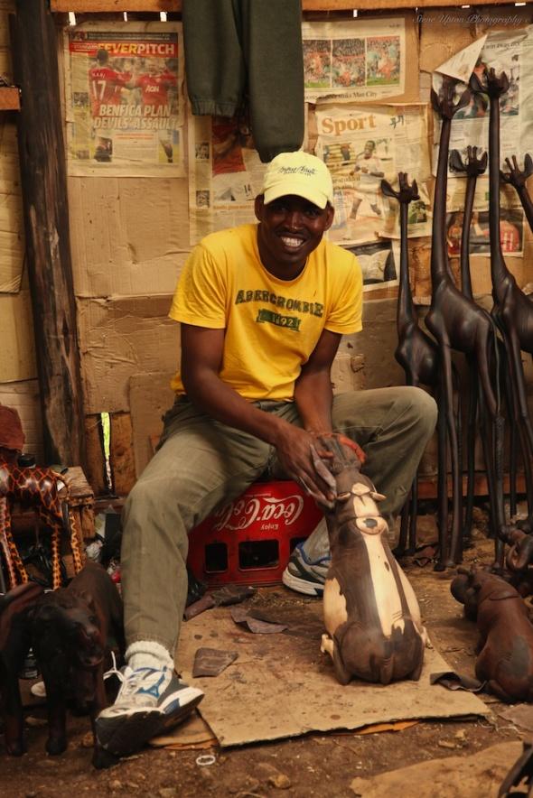 Kenyan working