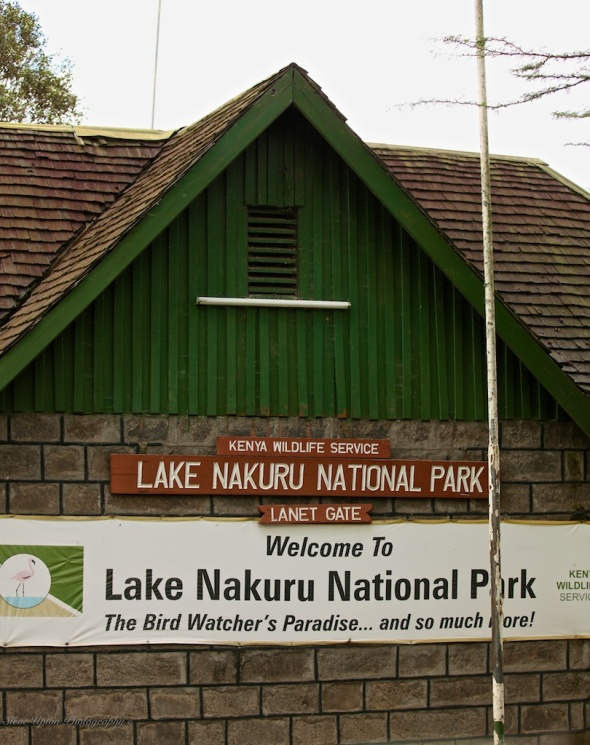 Lake Nakuru entrance
