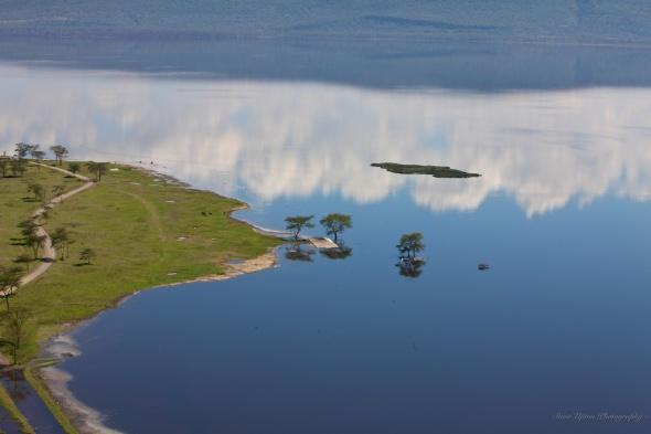 A flooded Lake Nakuru