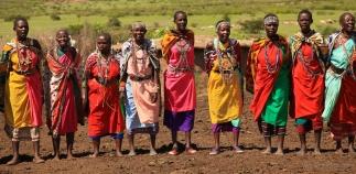 Masai villagers