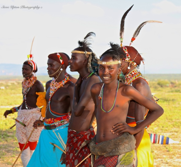 Samburu junior warriors