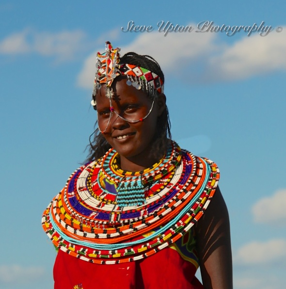 Samburu young woman